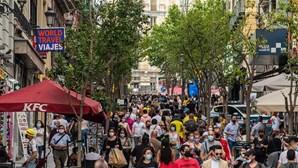 Medidas restritivas contra a Covid-19 aliviadas em Madrid a partir de segunda-feira