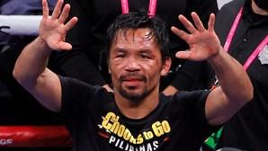 Estrela do boxe nas Filipinas anuncia candidatura às presidenciais de 2022