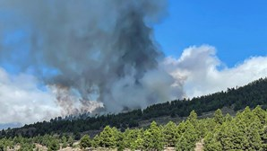 Vulcão em La Palma nas Canárias entra em erupção. Autoridades começam a retirar pessoas