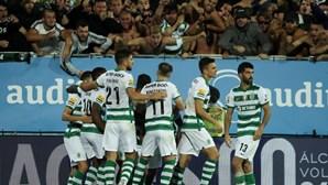 Sporting regressa aos triunfos com vitória pela margem mínima no terreno do Estoril