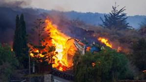 """IPMA avisa que é """"muito pouco provável"""" que cinzas das Canárias afetem Madeira nos próximos dias"""