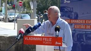 """""""Temos o primeiro-ministro com uma bazuca à cintura"""", criticou Rui Rio"""
