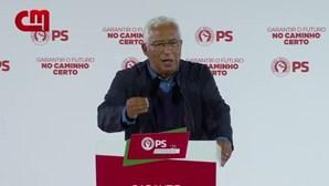 """""""No PS não há problemas internos por resolver"""", afirmou António Costa"""