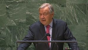 """""""É o tempo de agir"""": António Guterres realiza o discurso de abertura na Assembleia Geral da ONU. Veja em direto"""