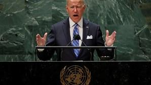 """Biden na ONU assegura que Estados Unidos """"não procuram uma nova Guerra Fria"""""""