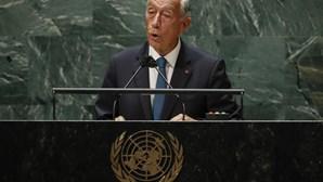"""Portugal estará sempre do lado dos consensos que resolvam as crises"": Marcelo apela ao multilateralismo na ONU"