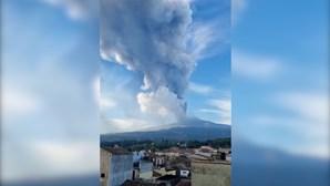 Depois do Cumbre Vieja em Las Palmas: Vulcão Etna em Itália volta a entrar em erupção três semanas depois