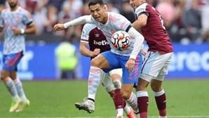 Cristiano Ronaldo faz sprint a 32,51 km/h frente ao West Ham