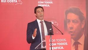 Rui Costa começa campanha eleitoral para presidente do Benfica em Barcelos este sábado