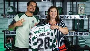 """O """"maior desejo"""" de Dolores Aveiro para Ronaldo: """"Filho, antes de morrer quero ver-te no Sporting"""""""