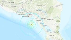 Sismo de magnitude 6,5 atinge Costa da Nicarágua