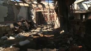 Família estima milhão de euros de prejuízo no incêndio em Castro Marim mas continua à espera que técnicos façam levantamento das perdas