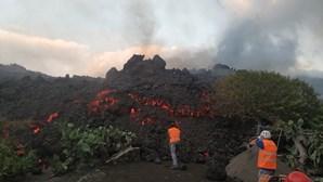 Vulcão em La Palma obriga a evacuar três localidades