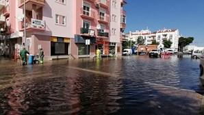 1100 alunos sem aulas e ruas alagadas no Algarve e Alentejo