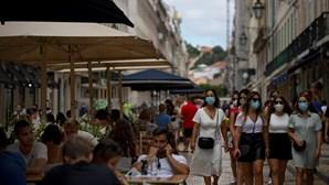Portugueses livres das máscaras a partir de dia 1 de outubro