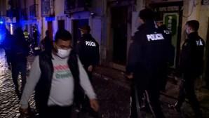 Ladrões proibidos de frequentarem ao Bairro Alto, Santos e Cais do Sodré em Lisboa