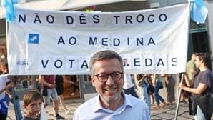 """Moedas faz último apelo ao voto em Lisboa: """"mudei tudo na minha vida para estar aqui convosco"""""""