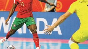 Portugal nos 'quartos' de final do Mundial de futsal com a Espanha