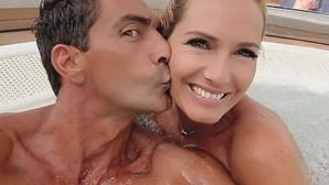 Fernanda Serrano recebe declaração de amor do namorado
