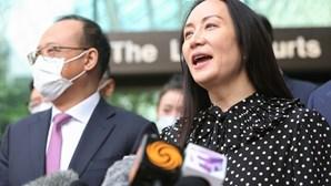 Dirigente da Huawei agradece à China depois de Canadá a libertar da prisão