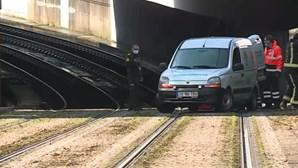 Circulação do metro do Porto interrompida em Matosinhos
