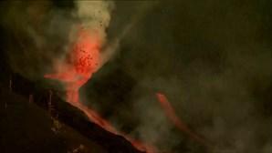 Cone do vulcão Cumbre Vieja está em risco de colapsar