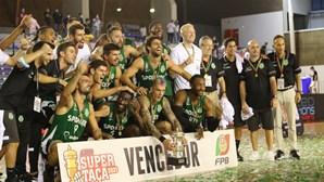 Sporting vence pela primeira vez Supertaça masculina de basquetebol