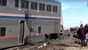 Três mortos e dezenas de feridos em descarrilamento de comboio nos EUA
