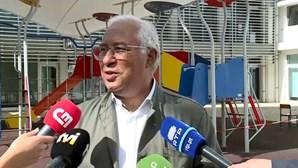 """Eleições são a """"grande festa da democracia"""", afirma António Costa"""