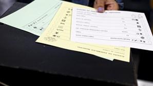Afluência às urnas até ao 12h00 é de 20,94%