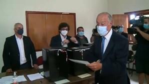 """Marcelo apelou à participação e destacou papel """"das câmaras e juntas"""" no combate à pandemia"""