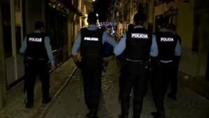 Casal foi detido pela PSP por tentar agredir agentes da polícia