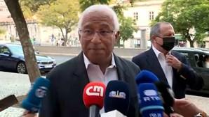 """António Costa recusa """"contaminação"""" das eleições com as negociações do Orçamento"""