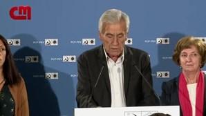 """""""Ficou aquém dos objetivos"""": Jerónimo de Sousa reage aos resultados do PCP nas eleições"""