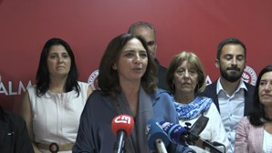 Inês Medeiros candidata do PS em Almada reage aos resultados das eleições. Veja em direto