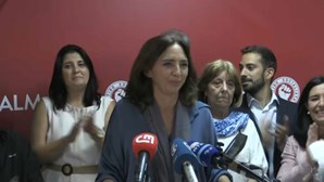 """Inês Medeiros: """"Hoje a democracia falou em Almada"""""""