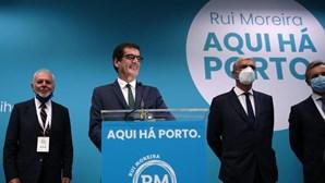 Rui Moreira e PSD chegam a acordo de governação para os próximos quatro anos