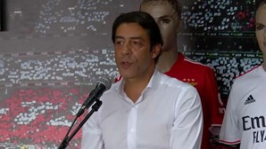Rui Costa esteve no Norte no segundo dia da campanha para as eleições presidenciais do Benfica
