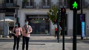 Portugal regressa à zona verde da matriz de risco da Covid-19