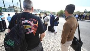 Advogados protestam contra local do julgamento dos 'Hell's Angels'