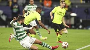 Leões lutam mas acabam a perder em Dortmund
