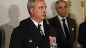 Demitido o almirante António Mendes Calado, Chefe do Estado-Maior da Armada