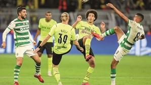 Leão dá luta ao Dortmund na Alemanha