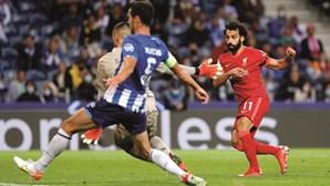 Desastre no Dragão com FC Porto a sofrer goleada frente ao Liverpool