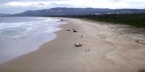 Praia de Emerald, local do ataque