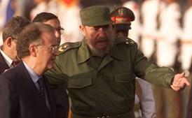 Fidel Castro e Jorge Sampaio