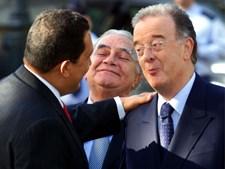 Hugo Chavez e Jorge Sampaio