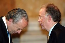Jorge Sampaio e Santana Lopes