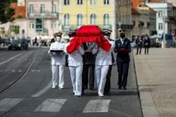 As imagens da homenagem ao antigo Presidente Jorge Sampaio
