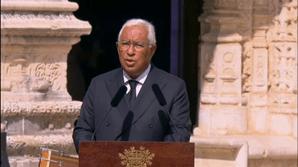 Costa homenageia Jorge Sampaio: 'Exerceu a Presidência como o cidadão de causas que sempre foi'